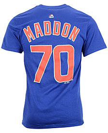 Majestic Men's Joe Maddon Chicago Cubs Player T-Shirt
