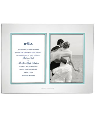Take the Cake Double Invitation Frame