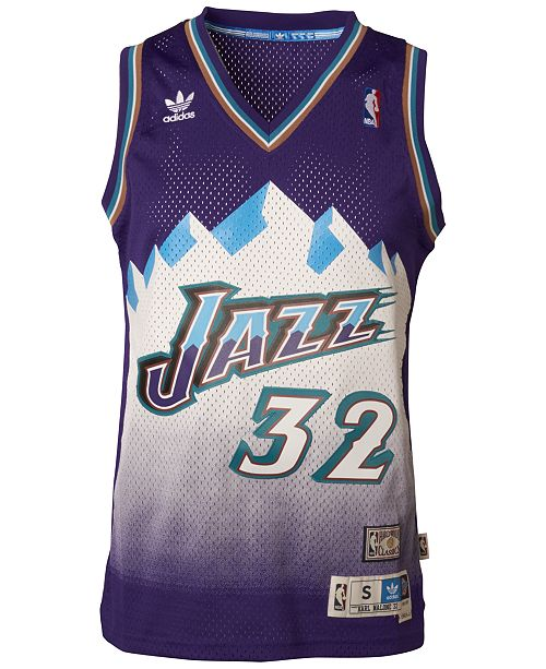 c3390f386e07 adidas Men s Karl Malone Utah Jazz Swingman Jersey   Reviews ...