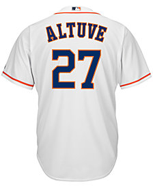 Majestic Men's Jose Altuve Houston Astros Replica Jersey