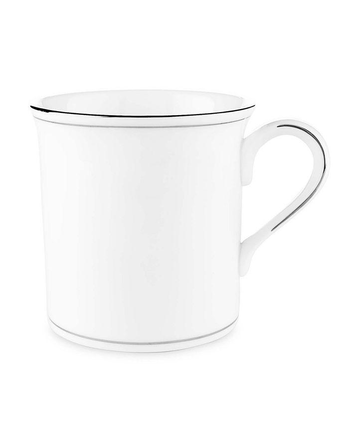 """Lenox - """"Federal Platinum"""" Mug, 13 oz."""