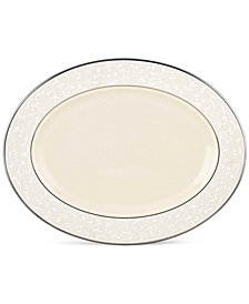 Lenox Pearl Innocence Large Oval Platter