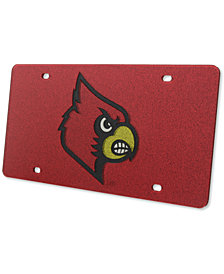 Stockdale Louisville Cardinals Glitter License Plate