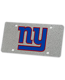 Stockdale New York Giants Glitter License Plate