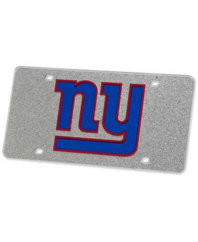 Stockdale New York Giants Glitter License Plate