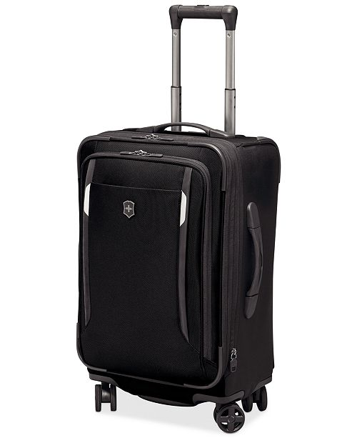 """Victorinox CLOSEOUT! Werks Traveler 5.0 22"""" Carry-On Expandable Dual Caster Spinner Suitcase"""