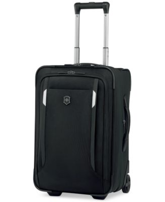 """CLOSEOUT! Victorinox Werks Traveler 5.0 20"""" Rolling Carry-On Expandable Suitcase"""