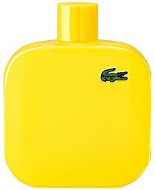 Lacoste Men's Eau de Lacoste Men's L.12.12 Yellow Eau de Toilette Spray, 5.9 oz.