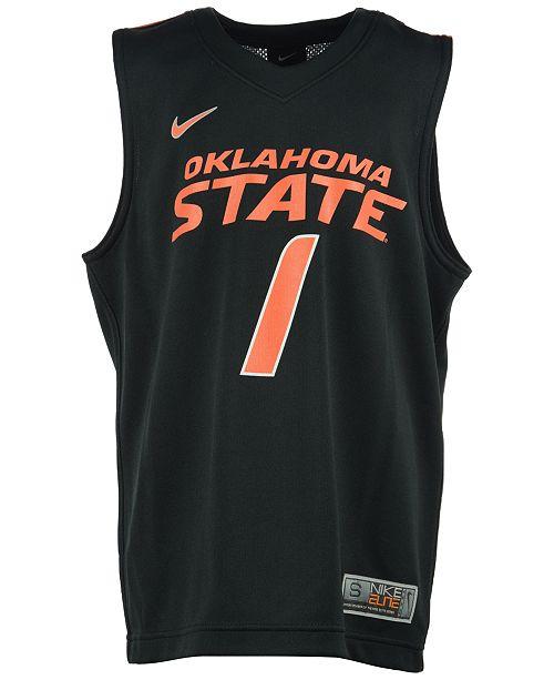 pretty nice 28ef5 b08ae Nike Oklahoma State Cowboys Replica Basketball Jersey, Big ...