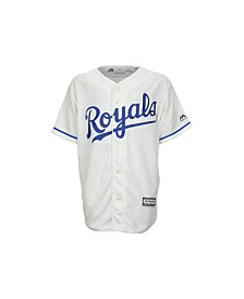 Majestic Kids' Kansas City Royals Replica Jersey, Big Boys (8-20)