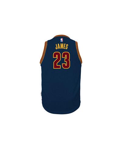adidas Kids' LeBron James Cleveland Cavaliers Swingman Jersey, Big Boys (8-20)