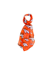 Forever Collectibles Denver Broncos All Over Logo Infinity Scarf