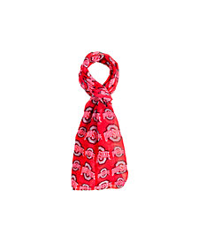 Forever Collectibles Ohio State Buckeyes All Over Logo Infinity Scarf