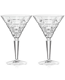 Marquis By Waterford  Crosby Martini, Pair