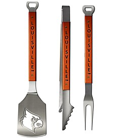 Louisville Cardinals 3-Piece Grilling Set