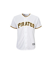 Majestic Pittsburgh Pirates Replica Jersey, Big Boys (8-20)