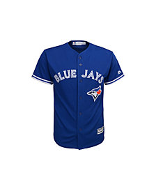Majestic Toronto Blue Jays Replica Jersey, Big Boys (8-20)