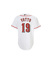 MajesticJoey Votto Cincinnati Reds Replica Jersey, Big Boys (8-20)