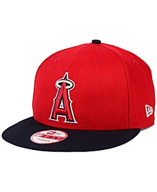 Los Angeles Angels of Anaheim 2-Tone Link 9FIFTY Snapback Cap