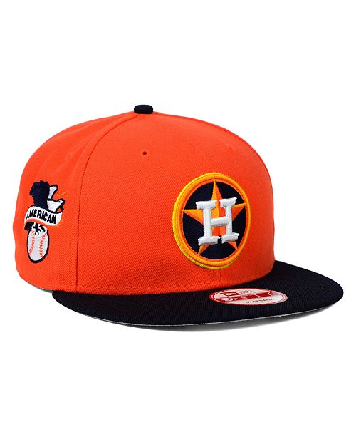 New Era Houston Astros 2 Tone Link 9FIFTY Snapback Cap - Sports Fan ... b5f4a96c6b90