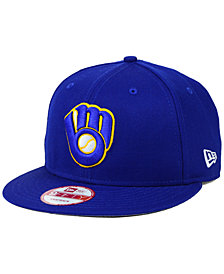 New Era Milwaukee Brewers 2 Tone Link 9FIFTY Snapback Cap