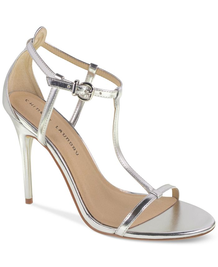 Chinese Laundry - Leo T-Strap Dress Sandals