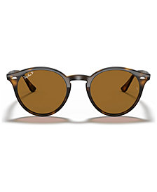 Ray-Ban Polarized Sunglasses, RB2180 Round