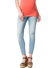 Vigoss Jeans Maternity Skinny Jeans, Light Wash