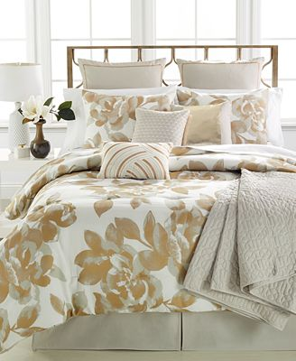 CLOSEOUT! Colette 10 Piece Queen Comforter Set - Bed in a Bag ...