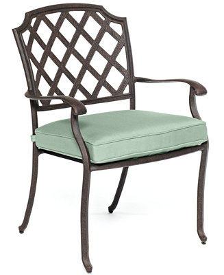 Nottingham Cast Aluminum Outdoor Dining Chair Furniture