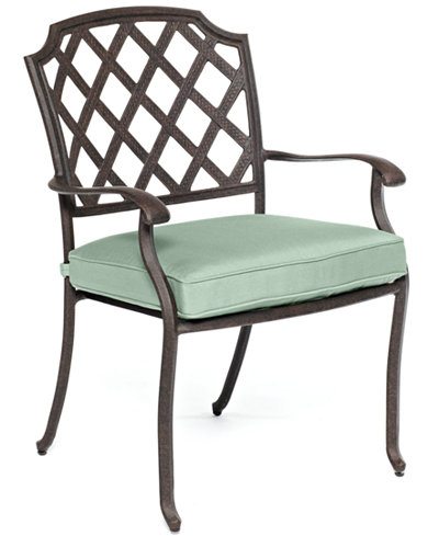 Nottingham Cast Aluminum Outdoor Dining Chair - CLOSEOUT! Nottingham Cast Aluminum Outdoor Dining Chair