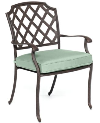Nottingham Cast Aluminum Outdoor Dining Chair