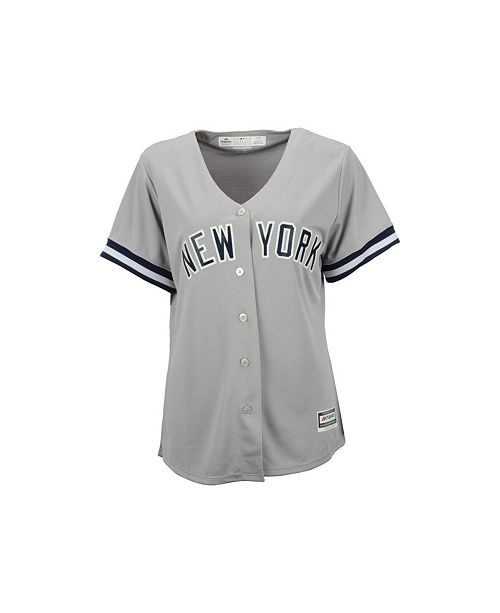 Majestic Women s New York Yankees Jersey - Sports Fan Shop By Lids ... 590b16e68a4