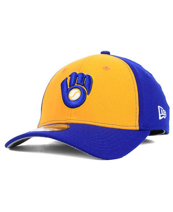 New Era Milwaukee Brewers Core Classic 39THIRTY Cap