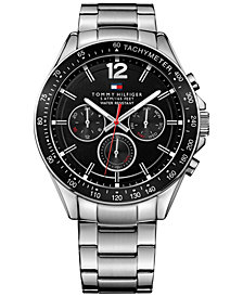 Tommy Hilfiger Men's Sophisticated Sport Stainless Steel Bracelet Watch 46mm  1791104