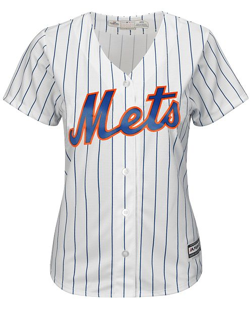 huge selection of ccb83 d38c5 Majestic Women's David Wright New York Mets Replica Jersey ...