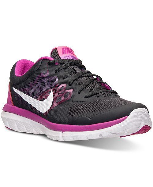 132379b8d00b69 Nike Women s Flex Run 2015 Running Sneakers from Finish Line ...