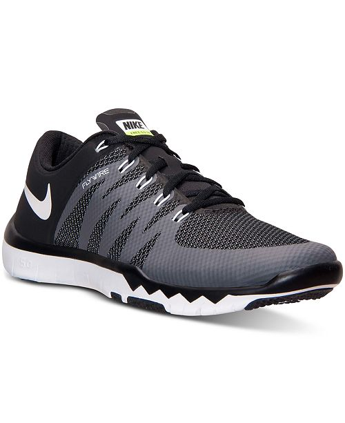 8d68bde3984e4 Nike Men s Free Trainer 5.0 V6 Training Sneakers from Finish Line ...