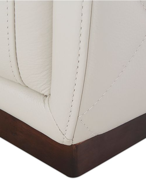 Furniture Closeout Jessi 6 Pc Leather Sectional Sofa With