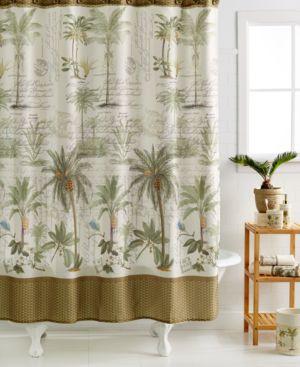 Avanti Colony Palm Shower Curtain Bedding 2140255