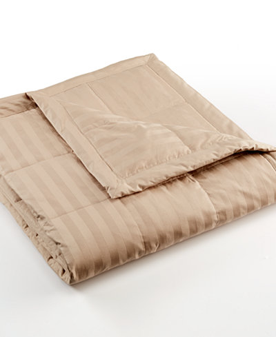 CLOSEOUT! Charter Club Damask 350 Thread Count Down Full/Queen Blanket
