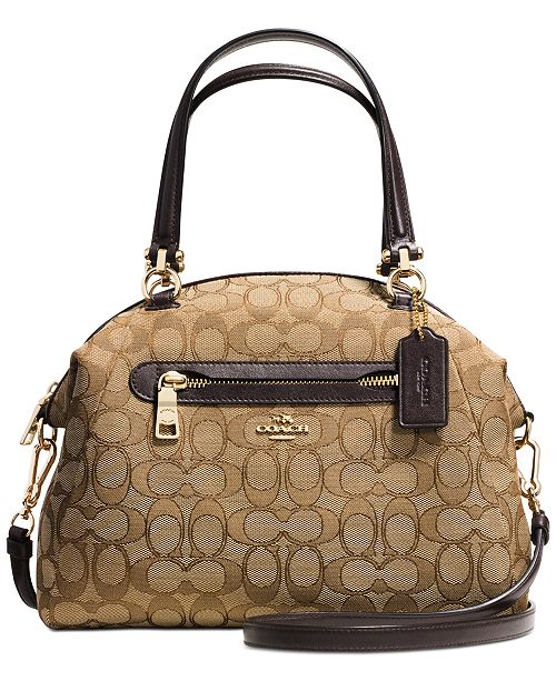 COACH PRAIRIE SATCHEL IN SIGNATURE CANVAS & Reviews