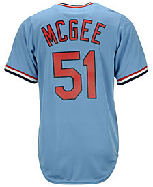Majestic Willie McGee St. Louis Cardinals Cooperstown Replica Jersey