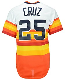 Majestic Jose Cruz Sr. Houston Astros Cooperstown Replica Jersey