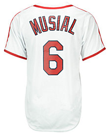 Majestic Stan Musial St. Louis Cardinals Cooperstown Replica Jersey