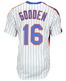 Majestic Dwight Gooden New York Mets Cooperstown Replica Jersey