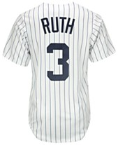 992189884 Majestic Babe Ruth New York Yankees Cooperstown Replica Jersey
