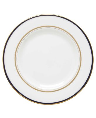 Library Lane Navy Salad Plate
