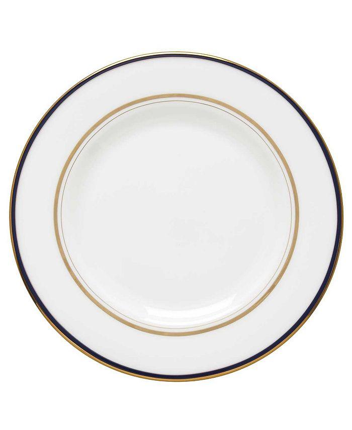 "kate spade new york - ""Library Lane"" Navy Salad Plate"