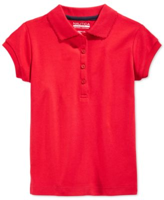 Image of Nautica School Uniform Polo, Big Girls (7-16)